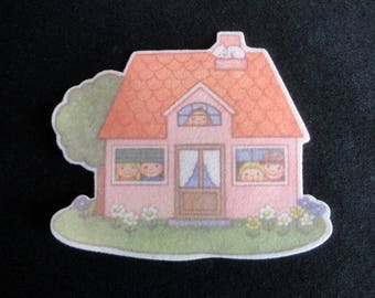Kids felt House patch badge