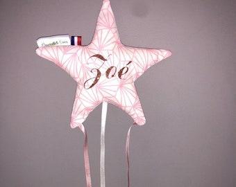 Star hair clips holder