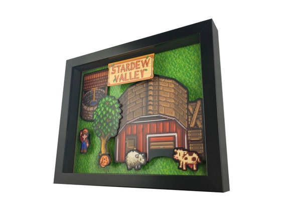 Stardew Valley 3D Shadow Box Diorama 8