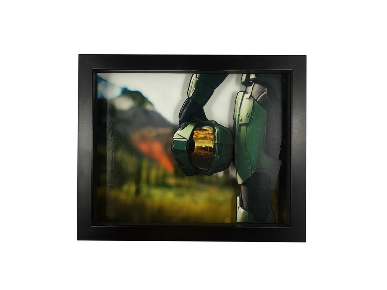 abf45dd754089 Halo 3D Shadow Box Diorama (8