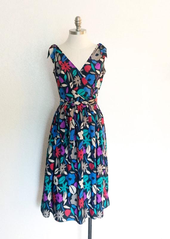 Vintage 1980s Malia of Honolulu dress