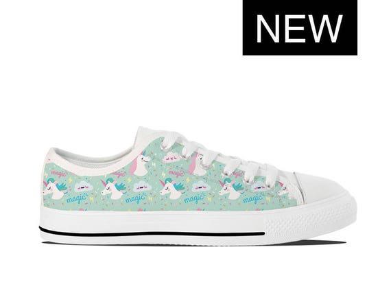 b8e1524368 Unicorn Vans Style Custom Unicorn Shoes Custom High Tops