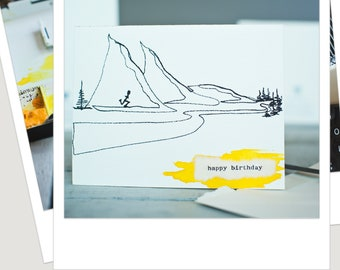 Running Birthday Card For Runner Runners Friend Watercolor