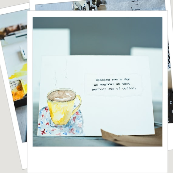 Coffee Cup Card Birthday