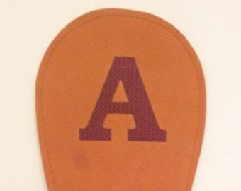"""Monogram """"A"""" Barrel Mitt®"""