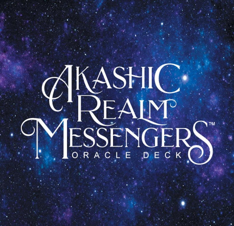 PRE ORDER Akashic Realm Messengers Oracle Deck image 0