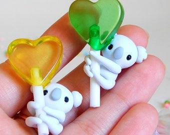 Koala Heart Lollipop