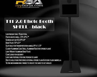 RBA T11 2.0 Photo Booth Shell Only – Black