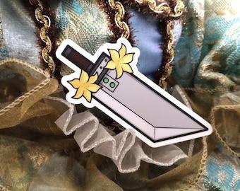 Vinyl Sticker - Final Fantasy 7 Buster Sword