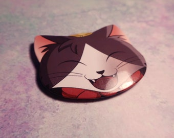 Cait Sith - Cat Shaped Button