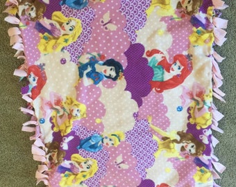 No sew Princess blanket