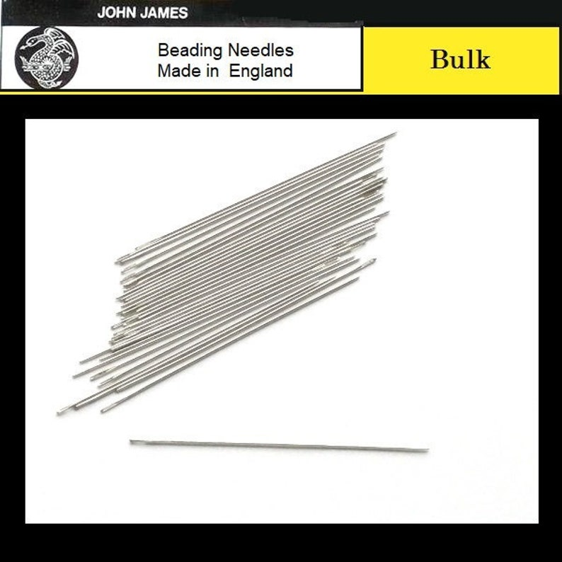 BULK BOHIN Beading Short Needles Size 10