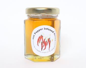 Hot Pepper Infused Honey