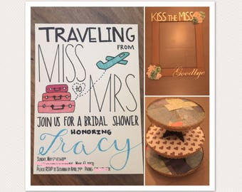 Travel-Themed Party Bundle