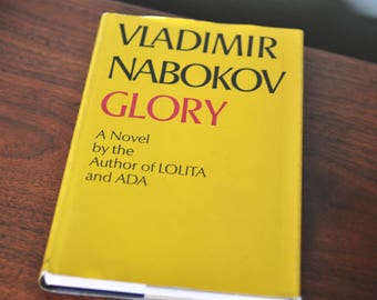 Glory by Vladimir Nabokov (1971) hardcover book