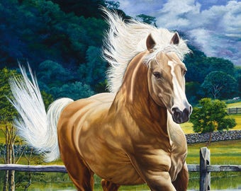 Palomino // Giclee on Canvas