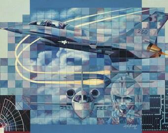 Tecnologia // Giclee on Canvas