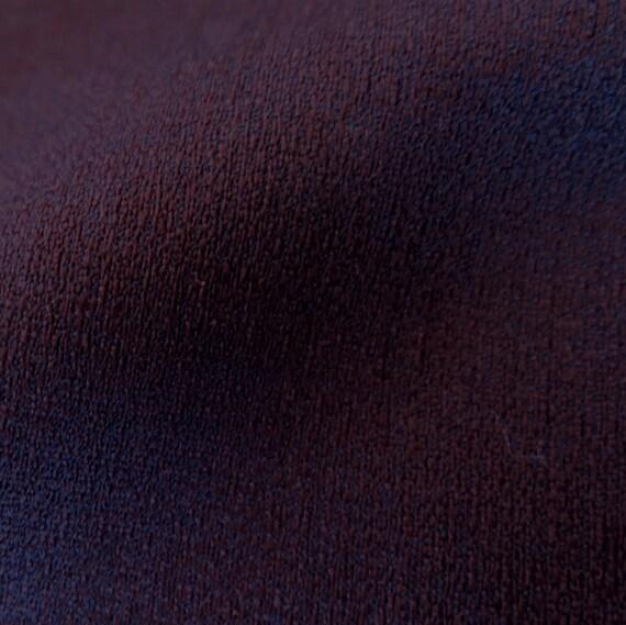 Authentique Kimono Vintage japonais homme pour homme japonais mélange de soie marron foncé N170 d5f84c