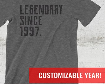 21st Birthday Gift For Her And Him Shirt 21 1997 Tshirt Year Old