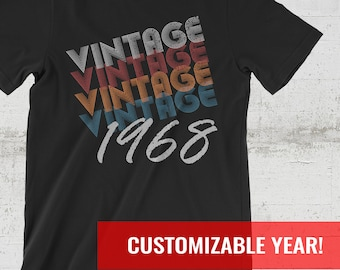 50th Birthday Gift Gifts For Men Shirt Women 1968 1969