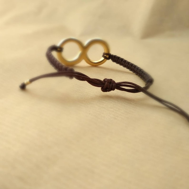 Infinity bracelet  macrame bracelet  macrame jewelry  friendship bracelet