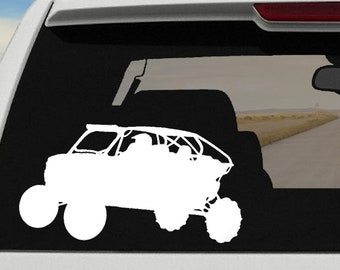 4 Seater RZR Decal | 4 Seater Side By Side Decal
