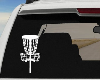 Disc Golf Decal | Disc Golfing | Disc Golf Basket