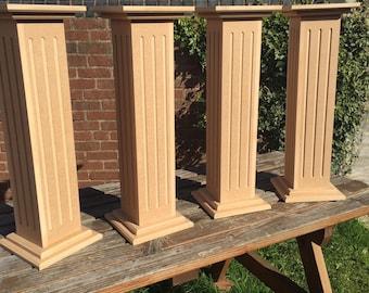Decorative wedding columns