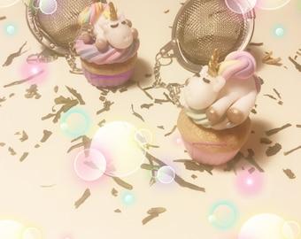 Unicorn Cupcake tea ball