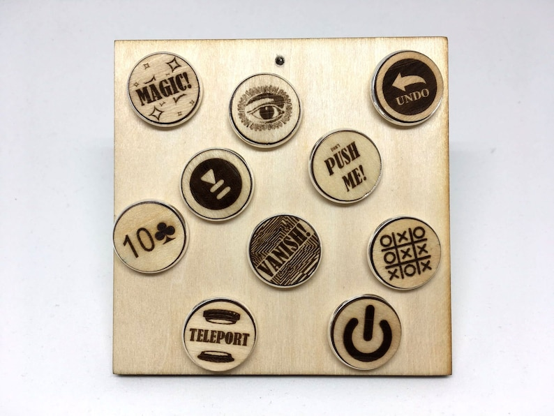 Wooden pins not only for magicians  Pause/Resume Undo image 0
