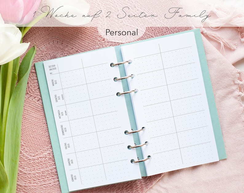 Kalendereinlagen Personal Dotted/ Planner Inserts image 0
