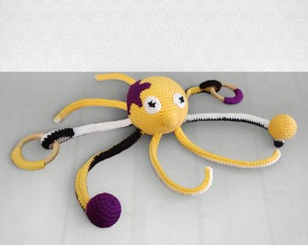 Toy with sound effects - Octopus
