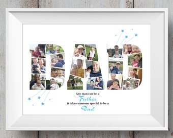Dad / Daddy / Father's Day / Birthday / Photo Montage