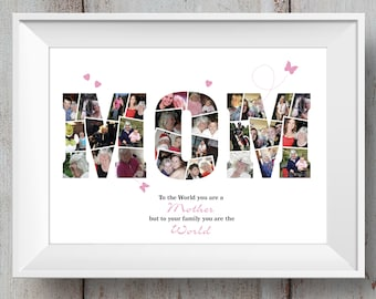 Mum / Mom / Mother's Day / Birthday / Photo Montage