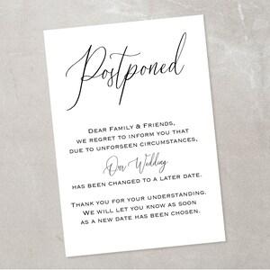 10 x Postponement Disney mask cards with Envelopes