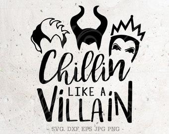 Chillin like villain   Etsy