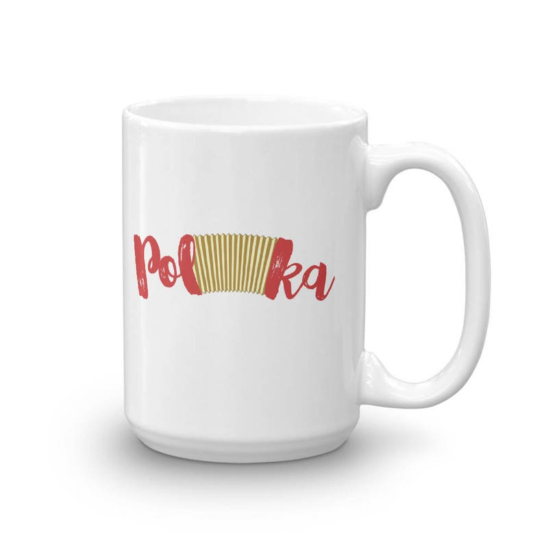 Polka Accordion Mug Polka Accordion Word Instrument Mug image 0