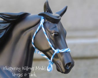 Traditional Scale Model Horse Rope Halter