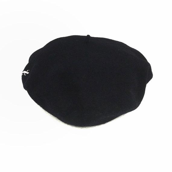 Agnes B Beret Wool Cap - image 4