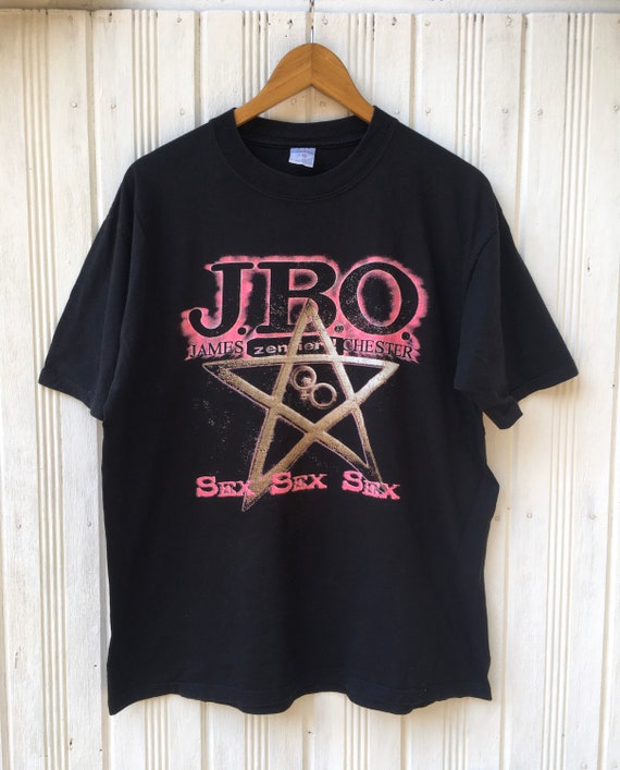 Vintage JBO Sex Sex Sex Band Tees Shirt