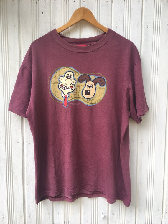 Vintage Wallace & Gromit Movie Tees Shirt