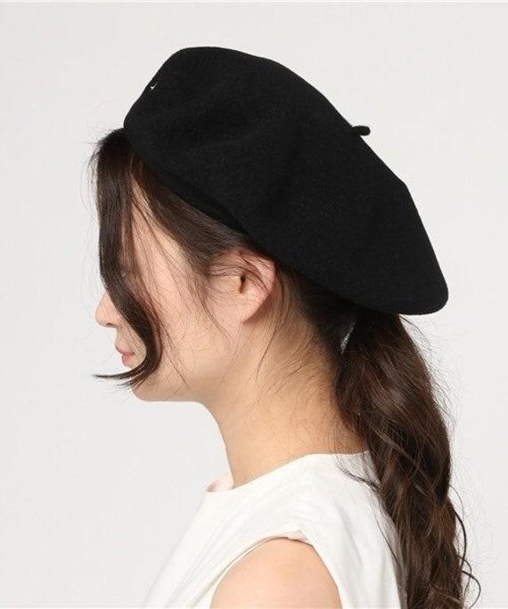 Agnes B Beret Wool Cap - image 6