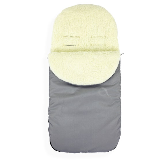 Universal Wool//Fleece Cosy Toes Footmuff Carrycot Buggy Pushchair Stroller Pram