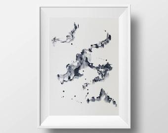 Watercolour Abstract Artwork 02