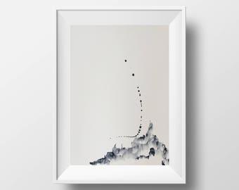 Watercolour Abstract Artwork 01