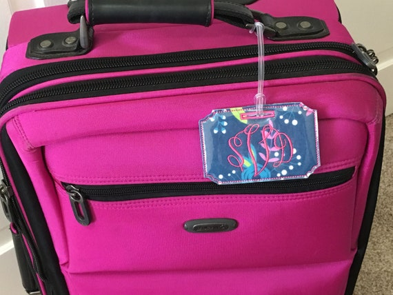 Chihuahua Pop Art Baggage Tag For Suitcase Bag Accessories 2 Pack Luggage Tags