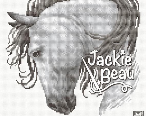 "Cross-stitch pattern ""Horse"""