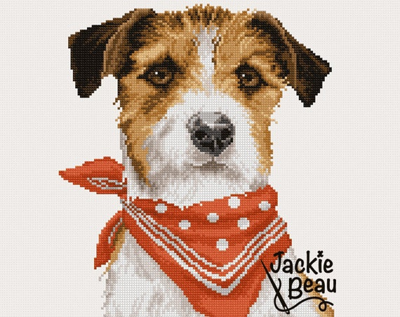 "Cross stitch pattern ""Terrier"""