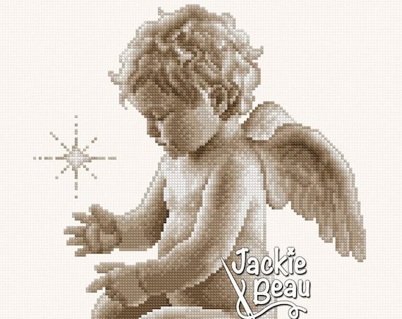 "Cross-stitch pattern ""Rising star"""