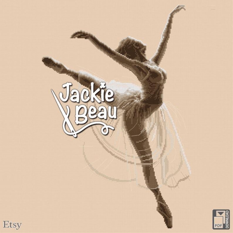 Cross-stitch pattern Ballerina by Jackie Beau  image 0